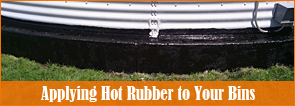 Rubber Sealant - Hot Rubber Application